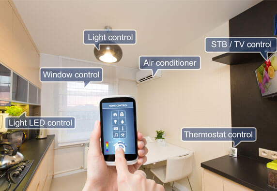 Whole house automation controls